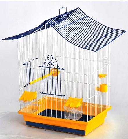 Клітка Міні-2 для дрібних птахів, 33*23*47 см