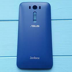 Задняя панель корпуса для Asus ZenFone 2 ZE500KL синяя