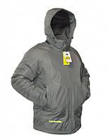 Куртка зимняя мембрам DEVI GARTEX серая (Турецкая ткань)