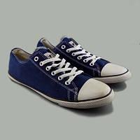 Кеды Converse All Star Slim низкие синие белые