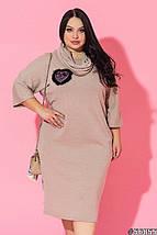 Женское платье батал с хомутом /разные цвета, 50-60, ST-56855/, фото 2