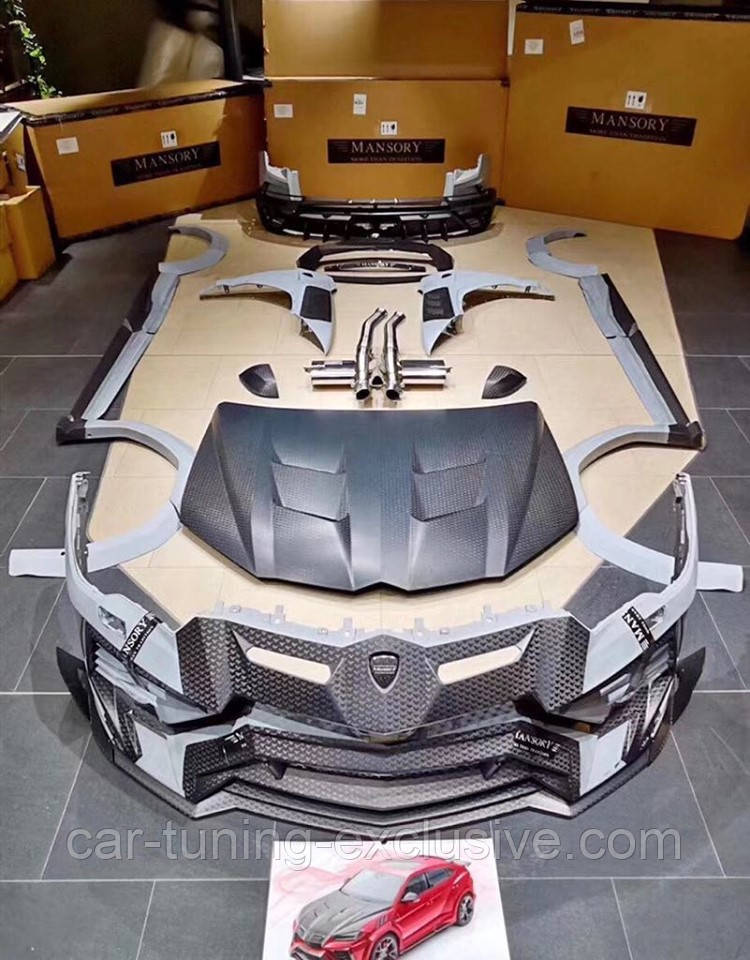 MANSORY Wide body kit for Lamborghini Urus