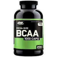 BCAA аминокислоты Optimum BCAA 1000 Caps 200 капсул
