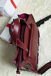 Lucherino 630 Сумка бордо, фото 4
