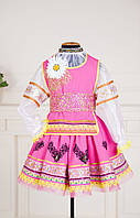 Украинский стилизованный костюм для девочки, под заказ!