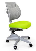 Кресло Mealux Speed Ultra KZ (арт.Y-1017 KZ) спинка серая / обивка зеленая