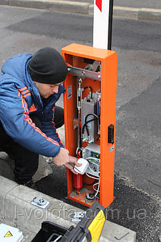 Сервисное обслуживание шлагбаумов автоматических гидравлических и электромеханических