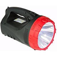 Фонарь-прожектор аккумуляторный YJ-2827 фонарик, фото 1
