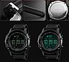 Skmei 1321 DYNAMIC черные спортивные мужские часы, фото 9