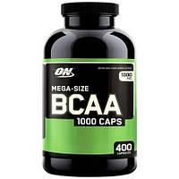 BCAA аминокислоты Optimum BCAA 1000 Caps 400 капсул