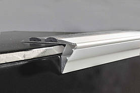 Профиль алюминиевый лестничный с LED подсветкой BRAZ Line 23х53х3000 мм BL1004