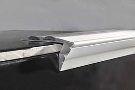 Профіль алюмінієвий сходовий з LED підсвічуванням BRAZ Line 23х53х3000 мм BL1004