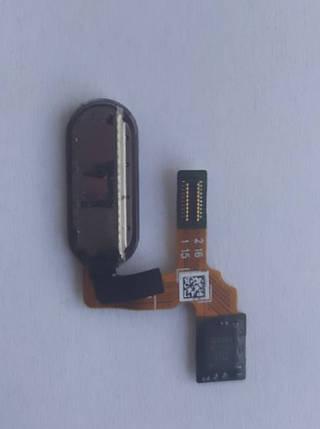 Шлейф для HUAWEI HONOR 9, для сканера відбитка пальця,(Touch ID), сірий, фото 2