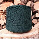 100% шерсть шетландской овцы синий чернильный, фото 5