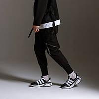 Штаны карго мужские черные бренд ТУР модель Барака (Baraka) M