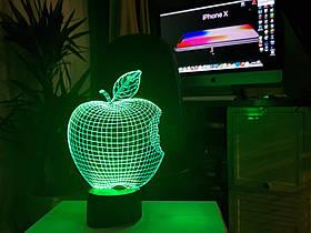 "3d светильник ""Apple"""