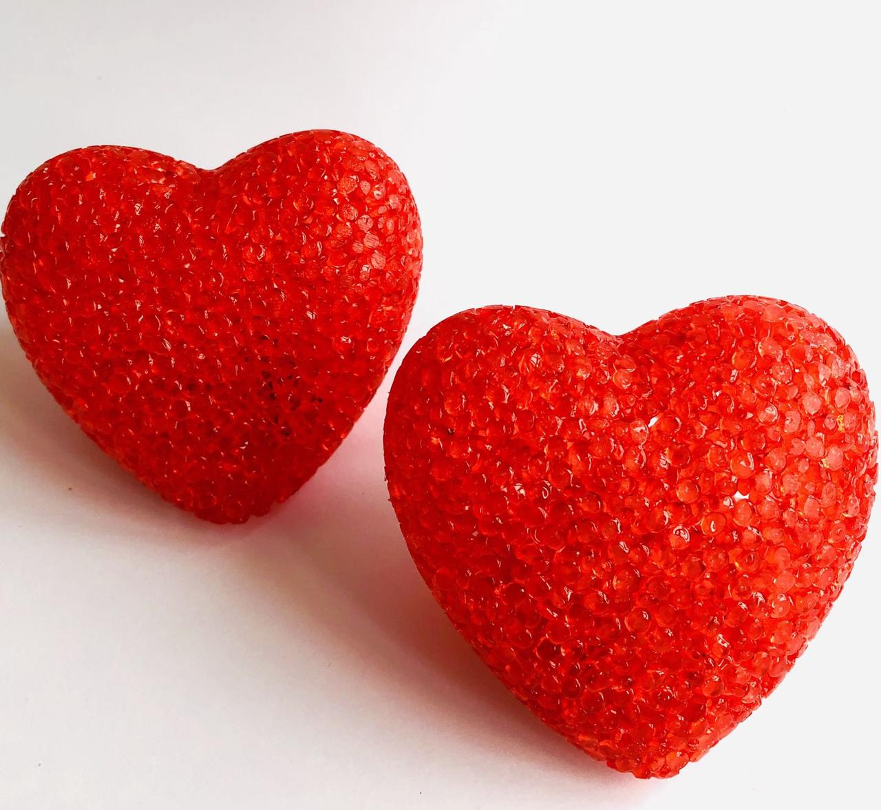 Сердце светяшка сахарное