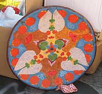 """Блюдо керамика тарелка """"Плодородие"""" 40-42 см настенная большая"""