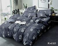Полуторный комплект постельного белья из ранфорса R4161