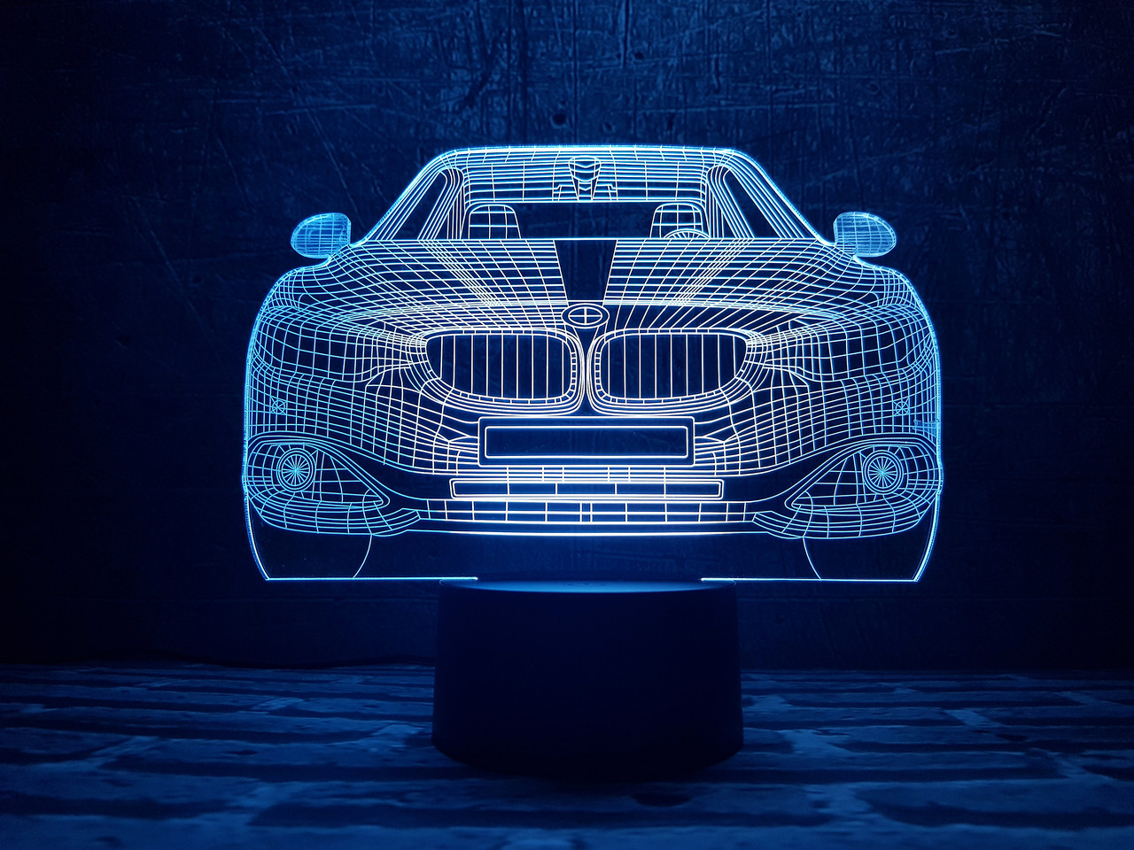 """3D светильник ночник """"Автомобиль 10"""" 3DTOYSLAMP"""