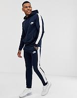 Мужской спортивный костюм с лампасами Nike (Найк), чоловічий спортивний костюм (кофта+штаны)