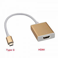 Адаптер Переходник USB 3.1 Type-C to HDMI Adapter, конвертер 720p/1080p, фото 1