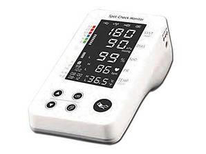 Монітор пацієнта Gima Spot-check PC-300 для вимірювання SpO2 частоти пульсу тиску температури (mpm_00351)