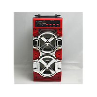 Портативная Bluetooth стерео колонка QS-105 с USB, MicroSD, FM, фото 1