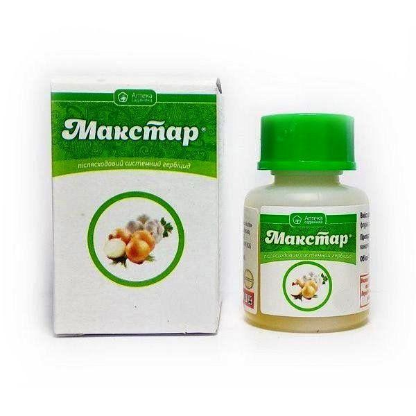 Системный послевсходовый гербицид Макстар 15 мл для уничтожения сорняков Ukravit (Укравит)