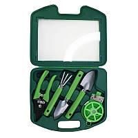 Набор садовых инструментов 5 в 1, в чемодане