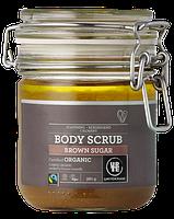 Органический скраб для тела Urtekram с тростниковым сахаром, маслами лаванды и эвкалипта, 450 гр