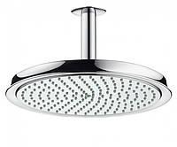Верхний душ потолочный с держателем Hansgrohe Raindance CLASSIC Air 24см 27405000 хром  (58271)