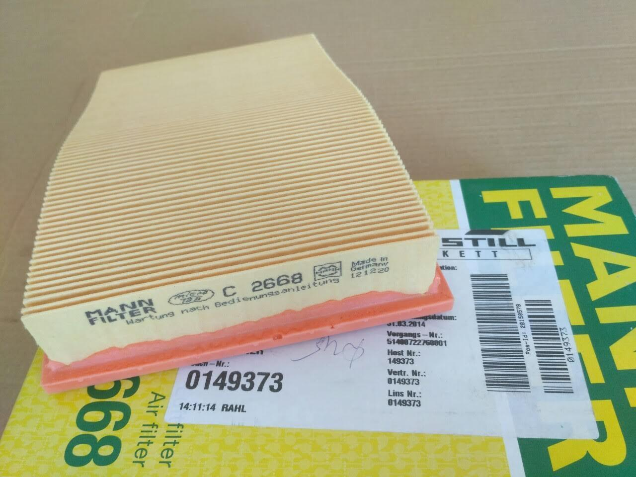 STILL 0149373  (0526500) фильтр воздушный / фільтр повітряний