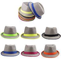 шляпы мужского стиля,федора и ковбойка