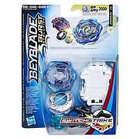 Волчок Hasbro Beyblade Switch Strike и пуск. устройство Bey Sst Jinnius J3 (E0723_E1037)