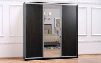 Шкаф Купе-05 2500х600х2400 Алекса мебель, фото 3