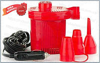 Насос электрический 12V Турбинка АС401 + супер жидкая латка 10 грамм. (К)