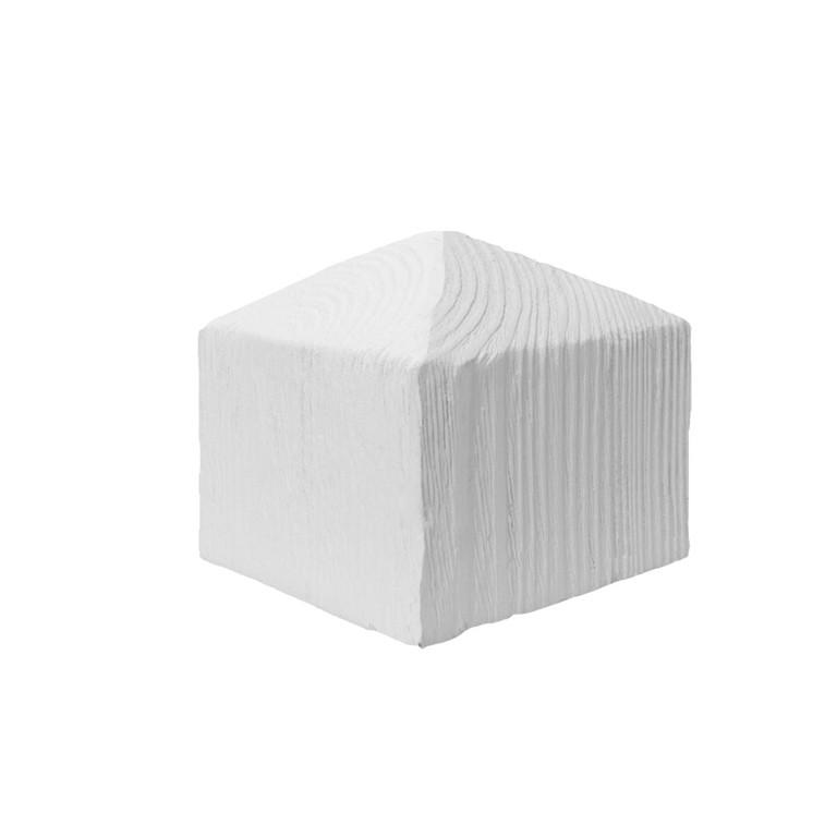 Стыковочный элемент универсальный Decowood 11x11 белый