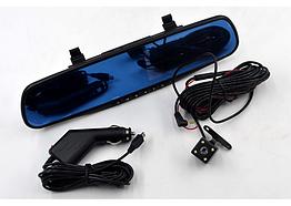 """Зеркало с видеорегистратором 2 камеры DVR-138W (4,3""""). Видеорегистратор"""