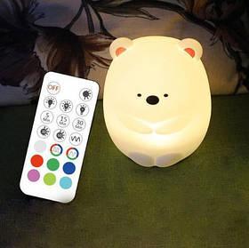 """Детский силиконовый ночник игрушка """"Умка""""  3DTOYSLAMP"""