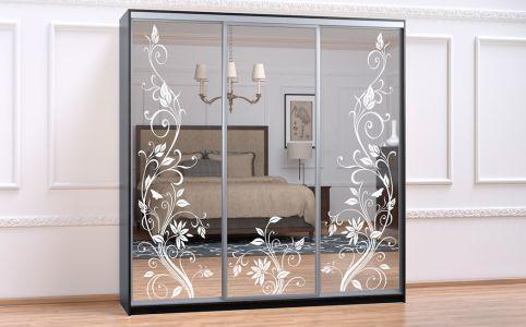 Шкаф Купе-05 2700х600х2400 Алекса мебель
