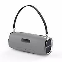 Портативная колонка мощная с влагозащитой Bluetooth Hopestar A6 Sound System Pro Grey (Серый)