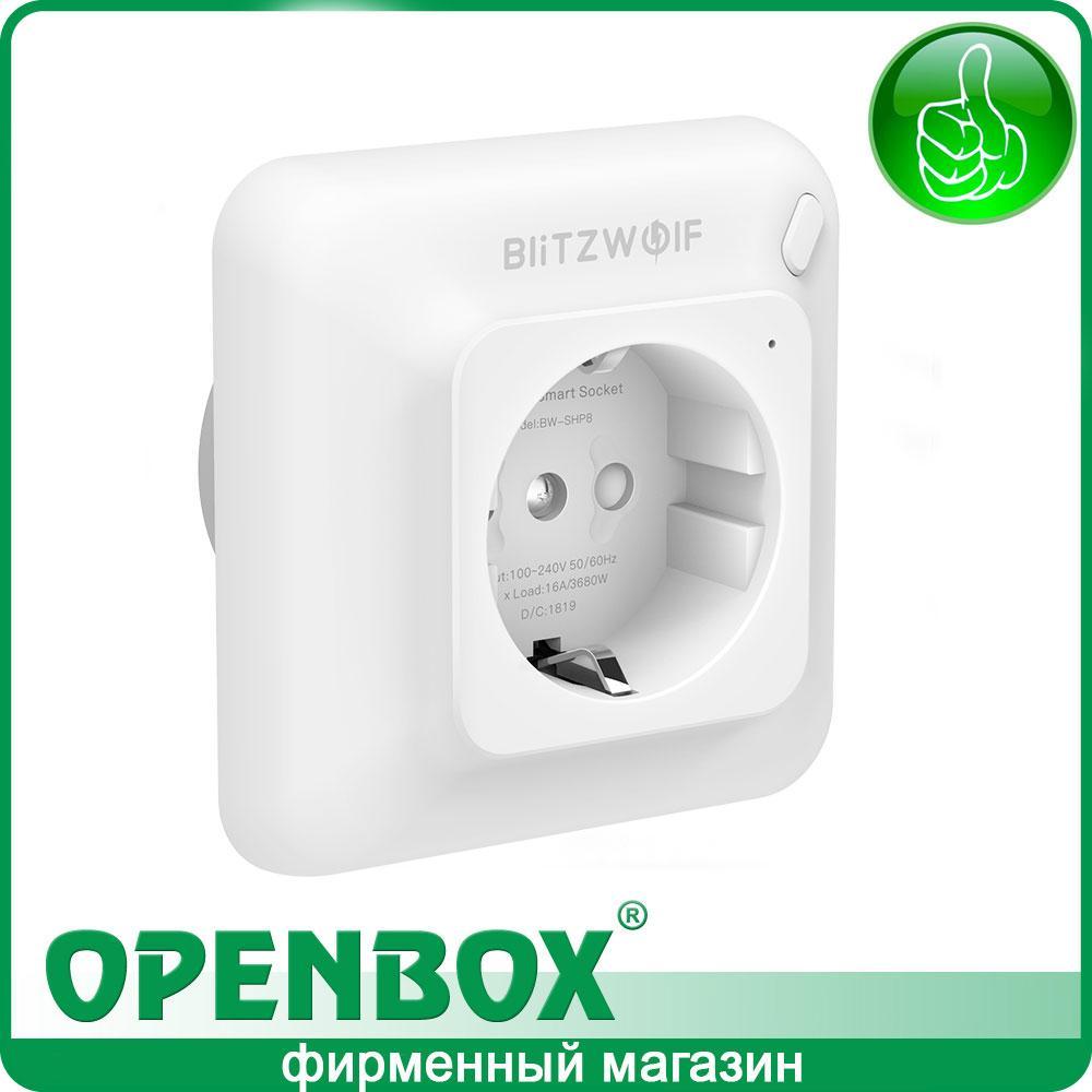 Смарт Розетка BW-SHP8 3680W 16A Wi-Fi