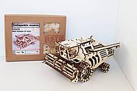 3D-конструктор дерев'яний Комбайн New Holland CX 8000
