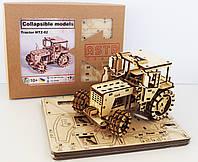 3D-конструктор дерев'яний Трактор МТЗ-82