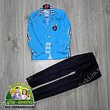 Костюм для мальчика: голубой пиджак и брюки, на выпускной или торжество, фото 2