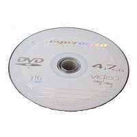 Диск Esperanza DVD-R 4.7 Gb 16x bulk 10