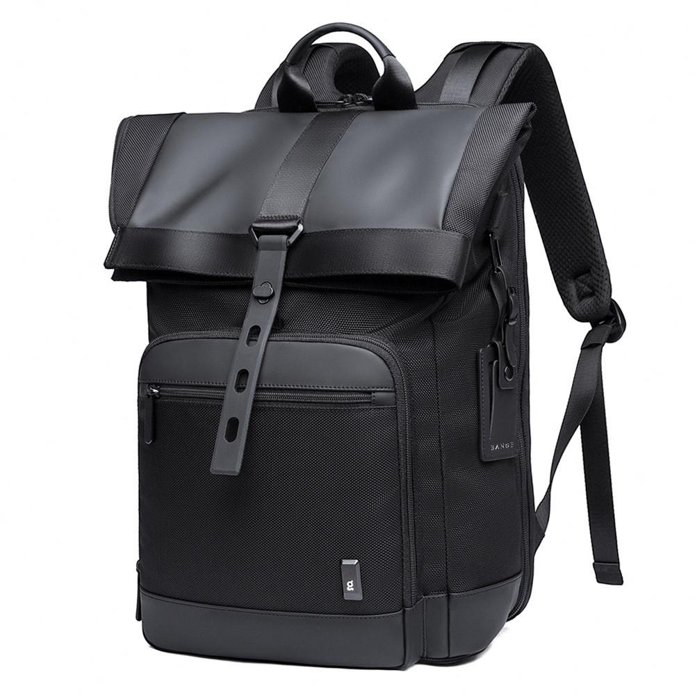 Рюкзак роллтоп (Roll Top) Bange BG-G66 с отделением для ноутбука и планшета, влагозащищенный, 30л