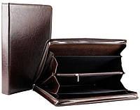 Деловая папка из искусственной кожи AMO SSBW03 коричневый