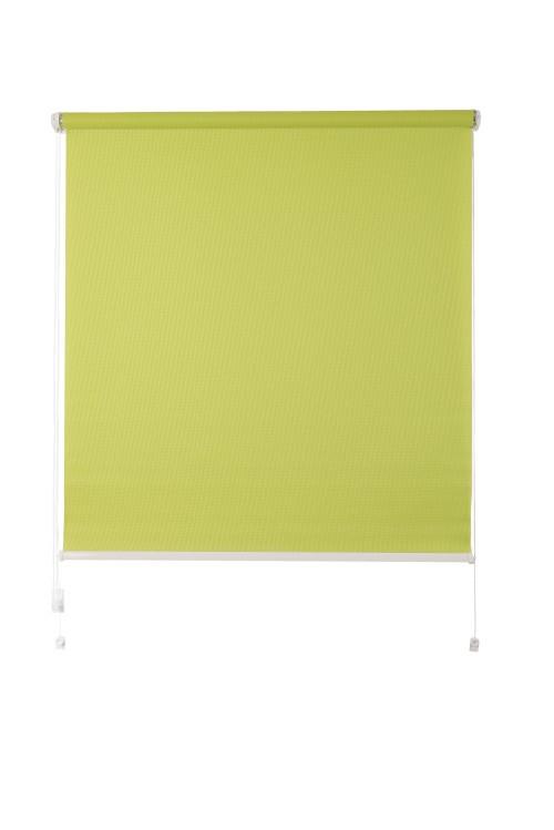 Рулонная штора De zon Edel Mini 80х160 см зеленая